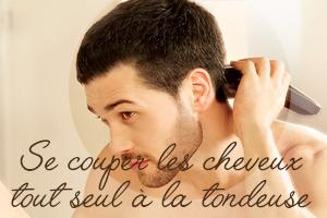 Coupe de cheveux pour hommes 6 mm
