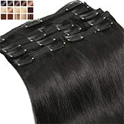 Extensions Cheveux Naturels à Clips