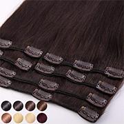 Rajout Cheveux Humains Naturels